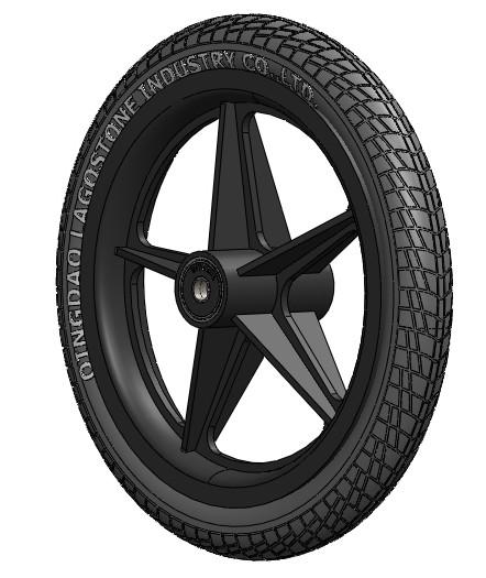 12-Inch-Nylon-Plastic-Wheel